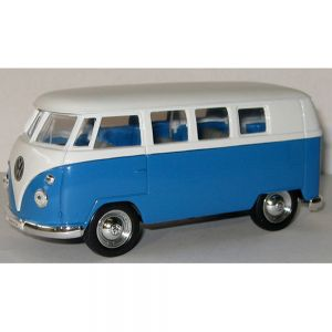 VW Micro Bus Blue