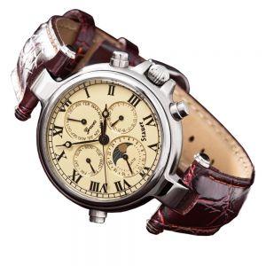 Stauer Stainless Steel Graves '33 Silver Wristwatch