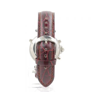 Leather Strap for Silver Graves Watch